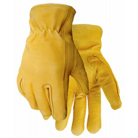 Golden Stag 426L Buffalo Grain Leather Men's Glove, Large (Golden Stag Gloves)