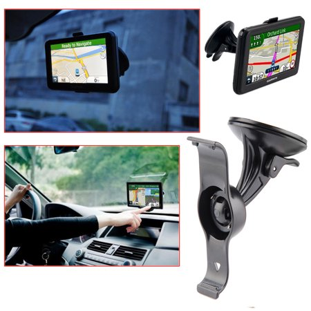 TSV Vehicle Suction Cup Mount & Bracket for Garmin Nuvi 50 50LM GPS (Compare to Garmin 010-11765-02)