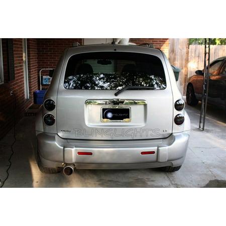 Tinted Overlays (Chevy HHR Tint Smoke Overlays Taillamps Taillights Tail Lamps Lights Tinted Smoked Film Chevrolet)