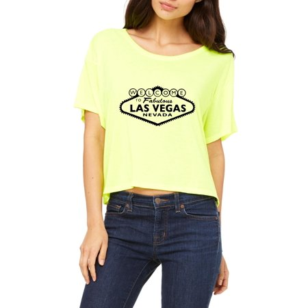 Welcome to Las Vegas Womens Shirts Flowy - Halloween Contests Las Vegas