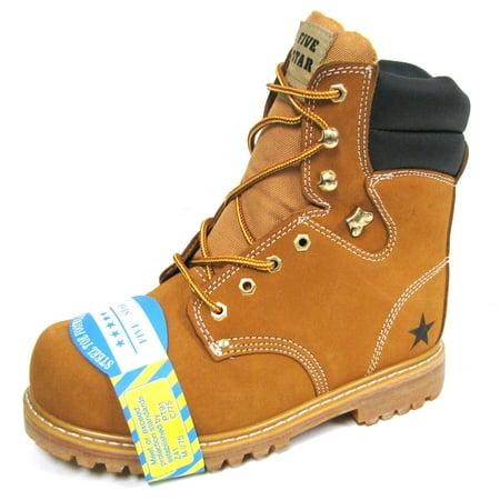 Men's Steel Toe Work Boots 9