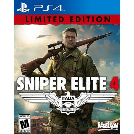 Image of Sniper Elite 4 - Pre-Owned (PS4)
