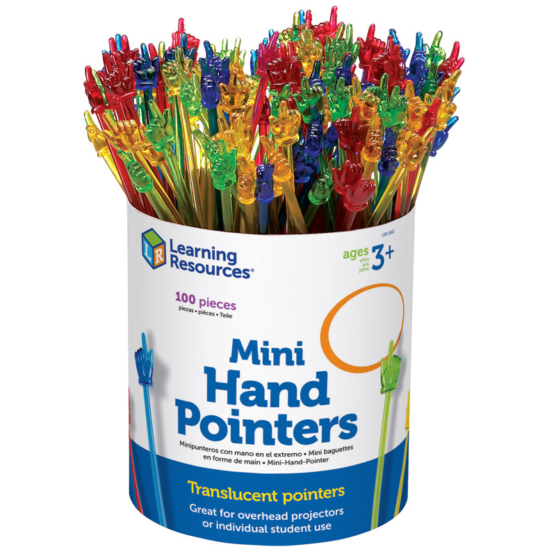 Learning Resources Mini Hand Pointers Party Pack