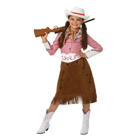 Girls Rodeo Cowgirl Costume - Girls Cowgirl Costume