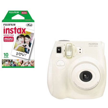 Fujifilm Instax Mini 7S Instant Camera (includes Fujifilm Mini Film 10pk)–Walmart-Cash Back