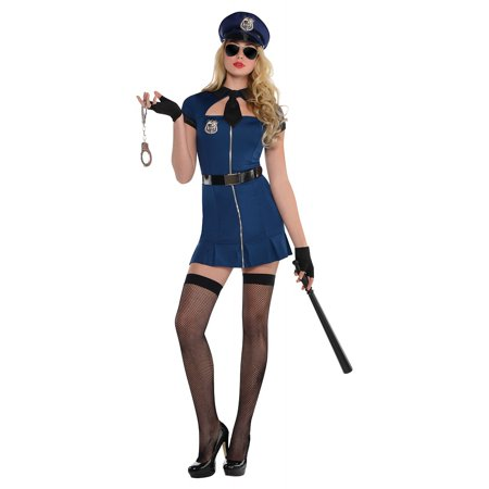 Bad Cop Adult Costume - (Women's White Bad To The Bone Costumes)