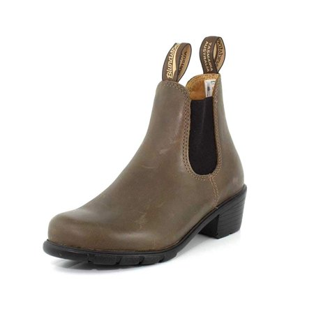 Blundstone Womens Boots - Blundstone Womens Heeled Antique Taupe Boot - 4 UK