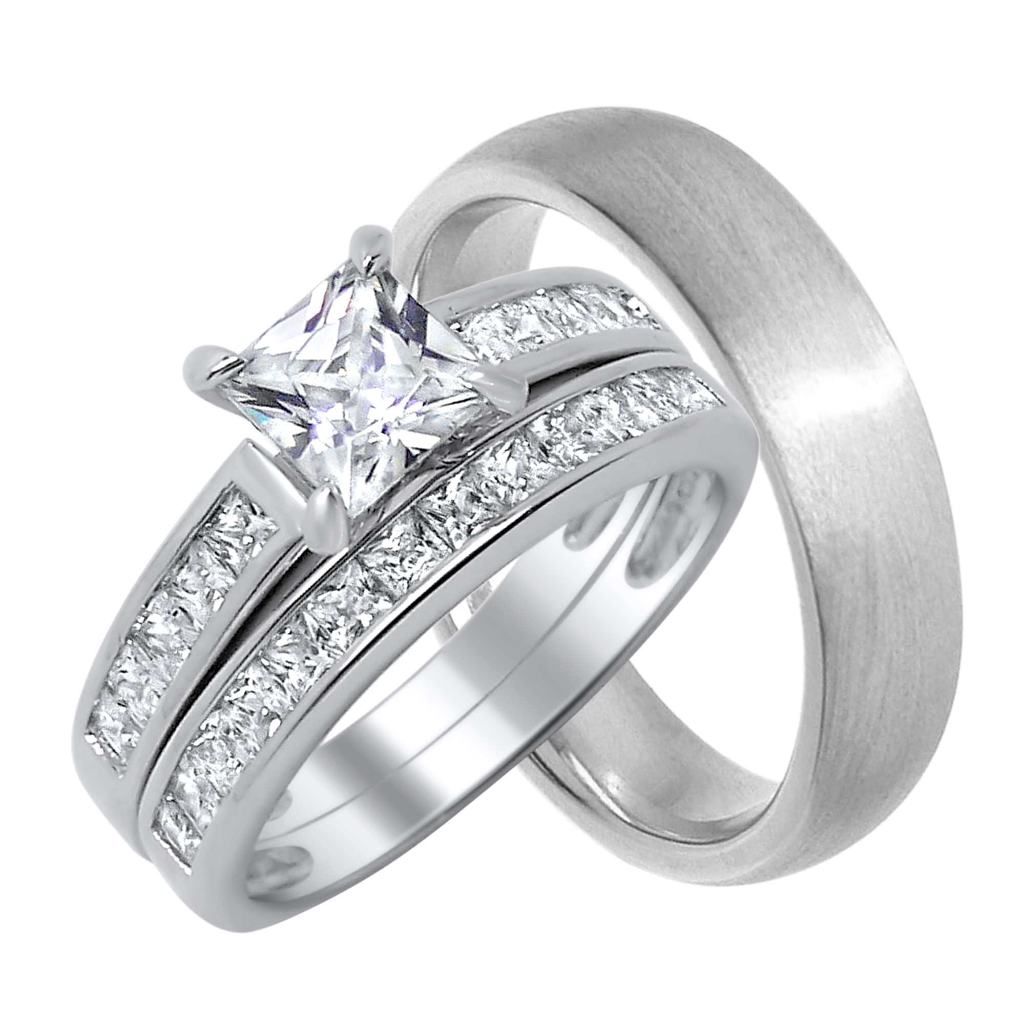 Matching Weding Rings For Him And Her 016 - Matching Weding Rings For Him And Her