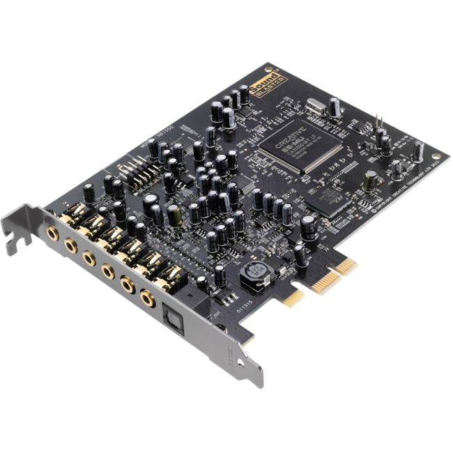 Creative Sound Blaster Audigy RX PCIe 7.1 Multi-Channel Internal Sound Card
