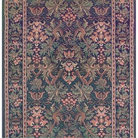 Runner Area Rug 2 3 Quot Wide Sold By Foot Blue Olefin