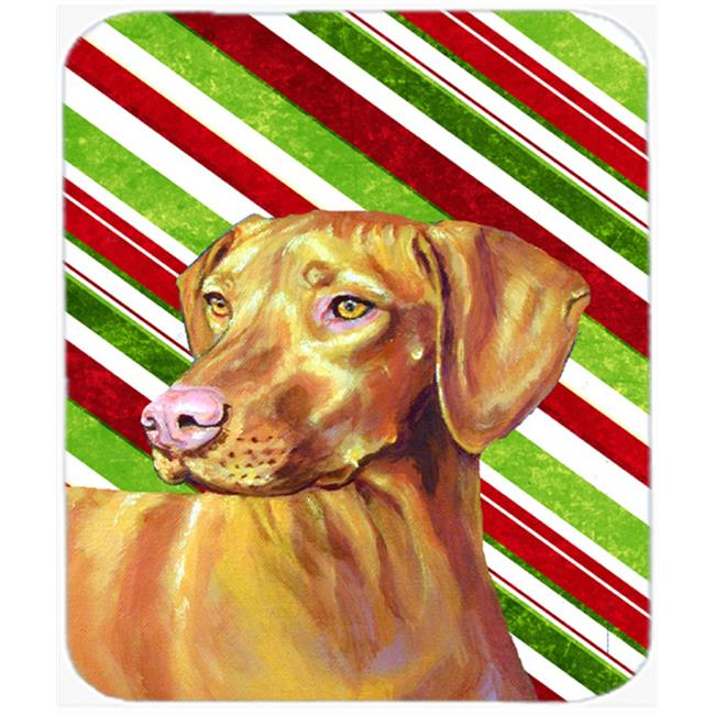 Vizsla Candy Cane Holiday Christmas Mouse Pad, Hot Pad Or Trivet - image 1 of 1