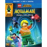 LEGO DC Super Heroes: Aquaman: Rage of Atlantis Blu-ray + DVD + Digital