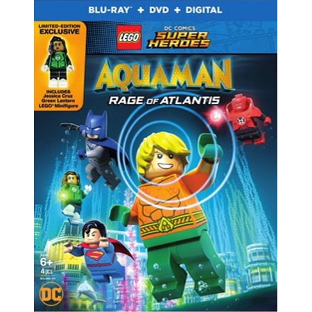 LEGO DC Super Heroes: Aquaman: Rage of Atlantis Blu-ray + DVD +