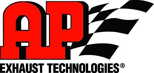 """AP Exhaust 602387 Universal Catalytic Converter Spun 3/"""" In//Out EPA Pre-OBDII"""