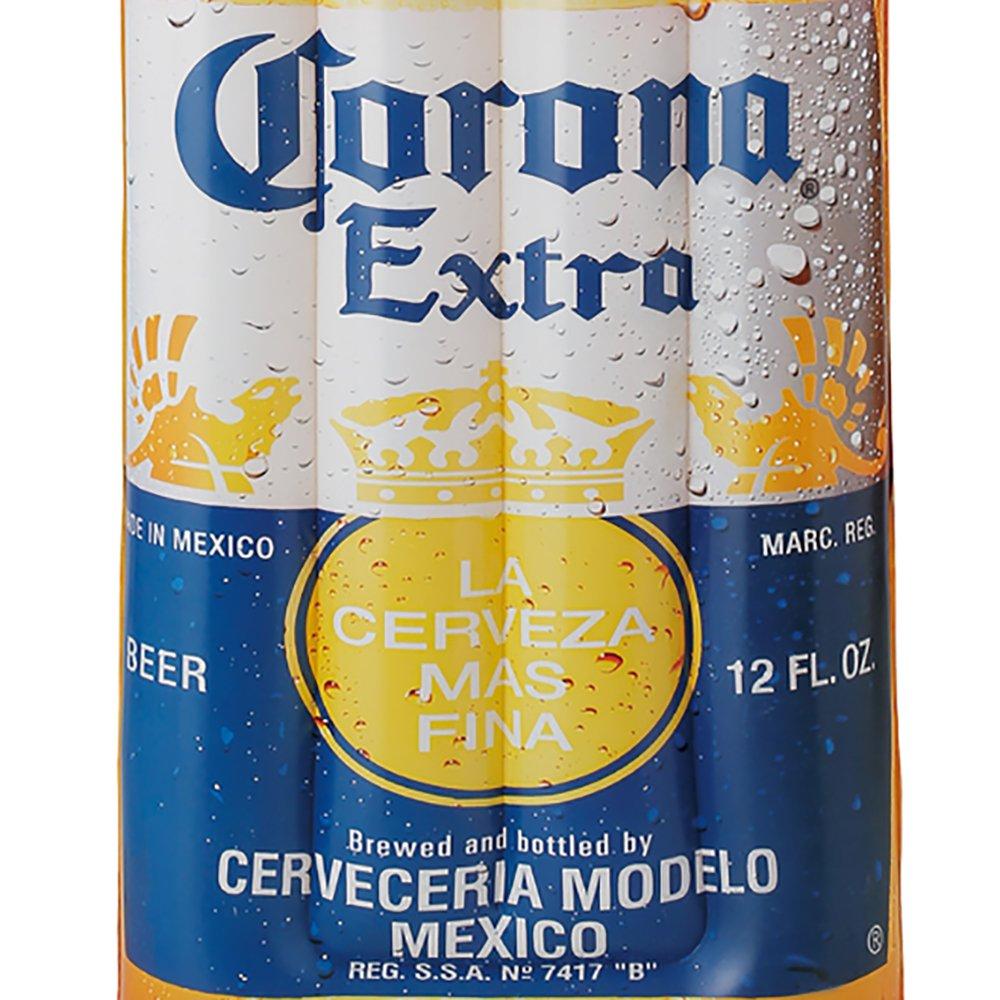 "Corona Beer Bottle 68.5"" x 22"" Inflatable Pool Float Mat + Lime Floating Cooler - image 9 de 12"