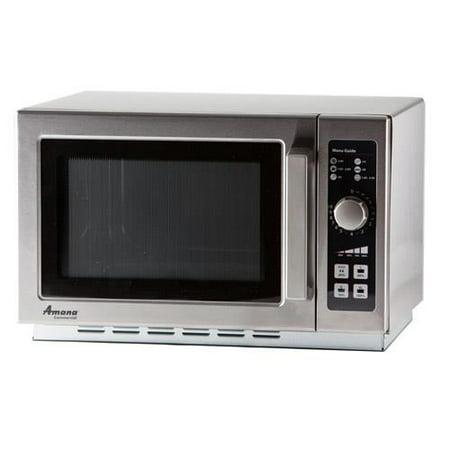 Amana Rcs10dse 1000 Watt Commercial Microwave Oven