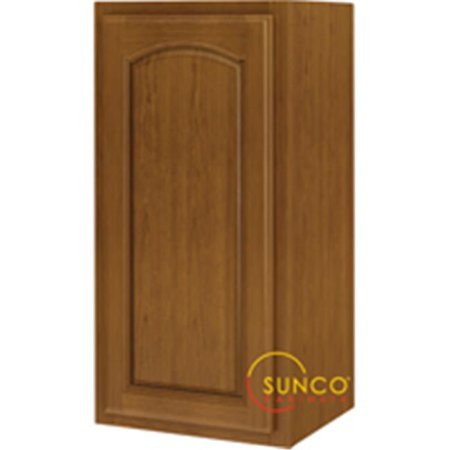 Sunco W1530RA Kitchen Cabinet Oak 1 Door 15 x 30