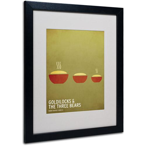 Trademark Art 'Goldilocks' Matted Framed Art by Christian Jackson