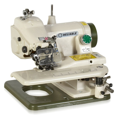 Reliable Corporation Portable Blindstitch Machine with Skip Stitch