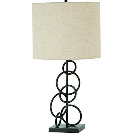 TABLE LAMP,VINTAGE BRON;ZBEIGE (Vintage Shades Company)