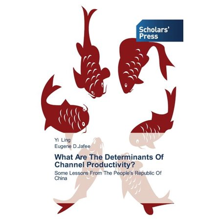 What Are the Determinants of Channel Productivity?
