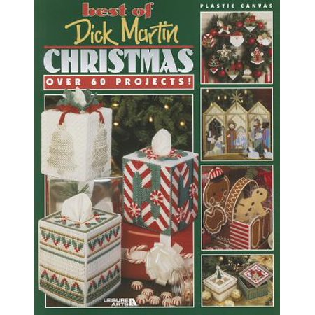 Best of Dick Martin Christmas: Plastic Canvas (Paperback)