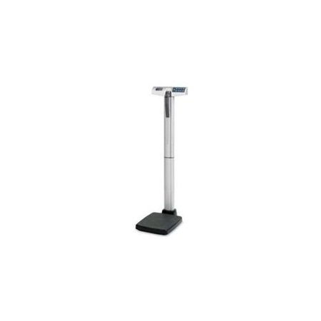 Health O Meter Physician Digital Scale - 500 Lb - Aluminum - Silver, Gray (500KL)