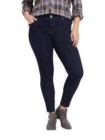 98e19ab45df0f Maurices High Rise Skinny Jean - Plus Size Everflex Women s Rinse Wash  Stretch