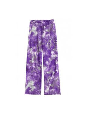 Justice Girls Printed Wide Leg Casual Trousers