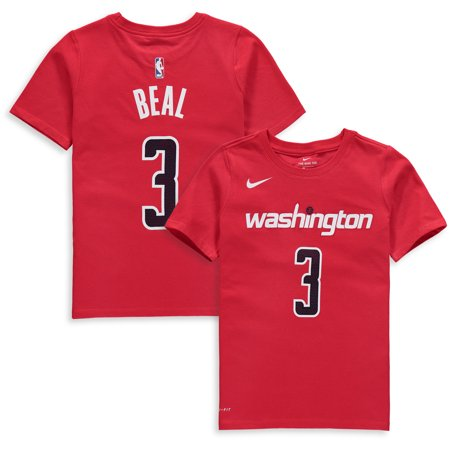 official photos 6210a 4e8af Bradley Beal Washington Wizards Nike Youth Name & Number Performance  T-Shirt - Red - Walmart.com