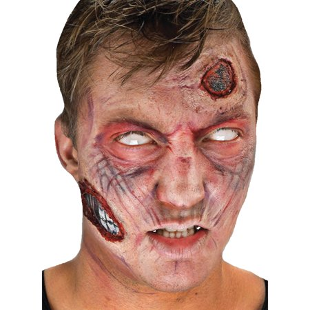 Zombie Complete 3D FX Makeup Kit Adult Halloween Accessory for $<!---->
