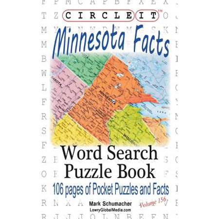 Circle It, Minnesota Facts, Word Search, Puzzle Book (Paperback)