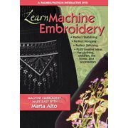 Learn Machine Embroidery : Machine Embroidery Made Easy with Marta Alto