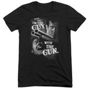 MGM Army Of Darkness Guy With The Gun Mens Tri-Blend Short Sleeve Shirt
