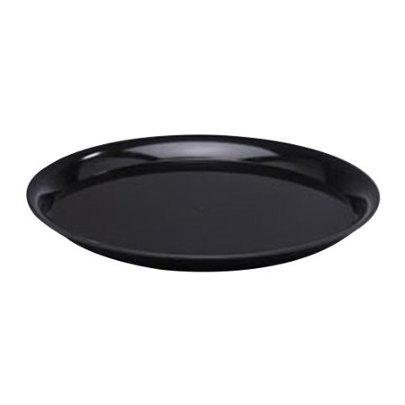 Wna Checkmate Polystyrene Round Catering Tray With High