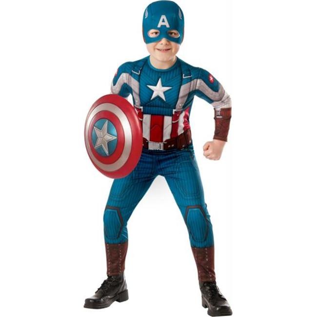 MorrisCostumes RU620046LG Captain America Child, Large