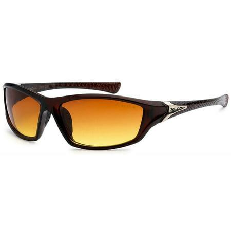 HD Driving Wrap Sunglasses Golf Vision Blue Blocker Lens High Definition USA (High Definition Sunglasses)