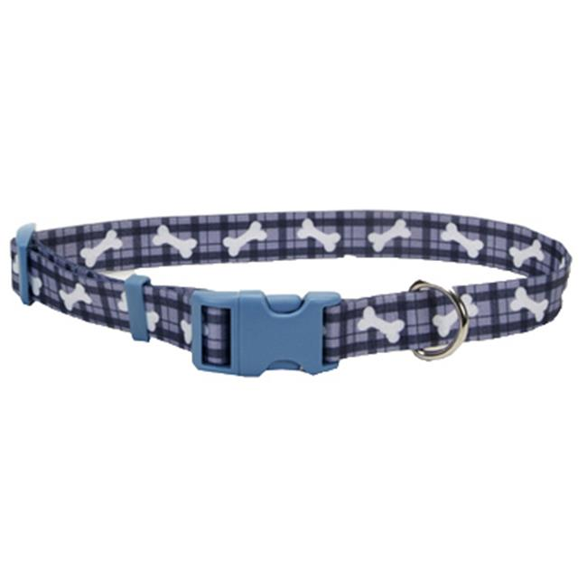 06402 A PBO18 .63 in. Adjustable Bone Nylon Fashion Collar