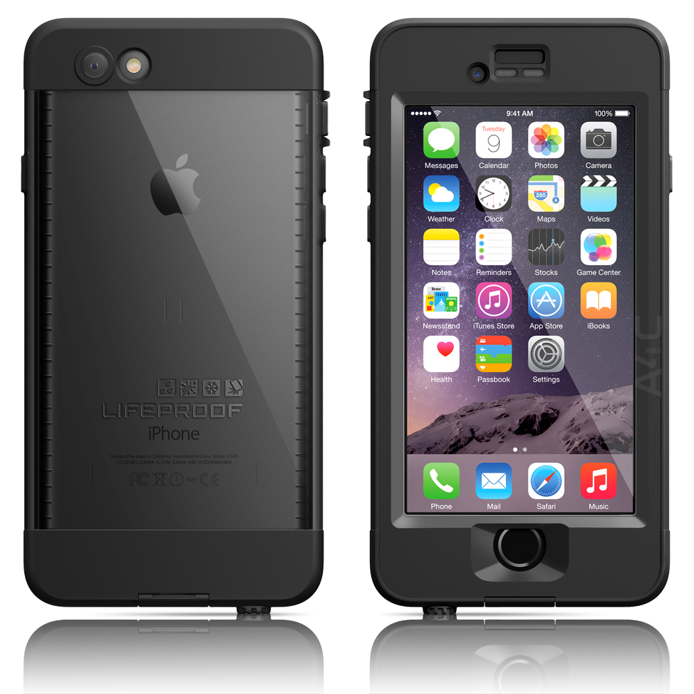LifeProof Nuud Waterproof Case for Apple iPhone 6 - Black