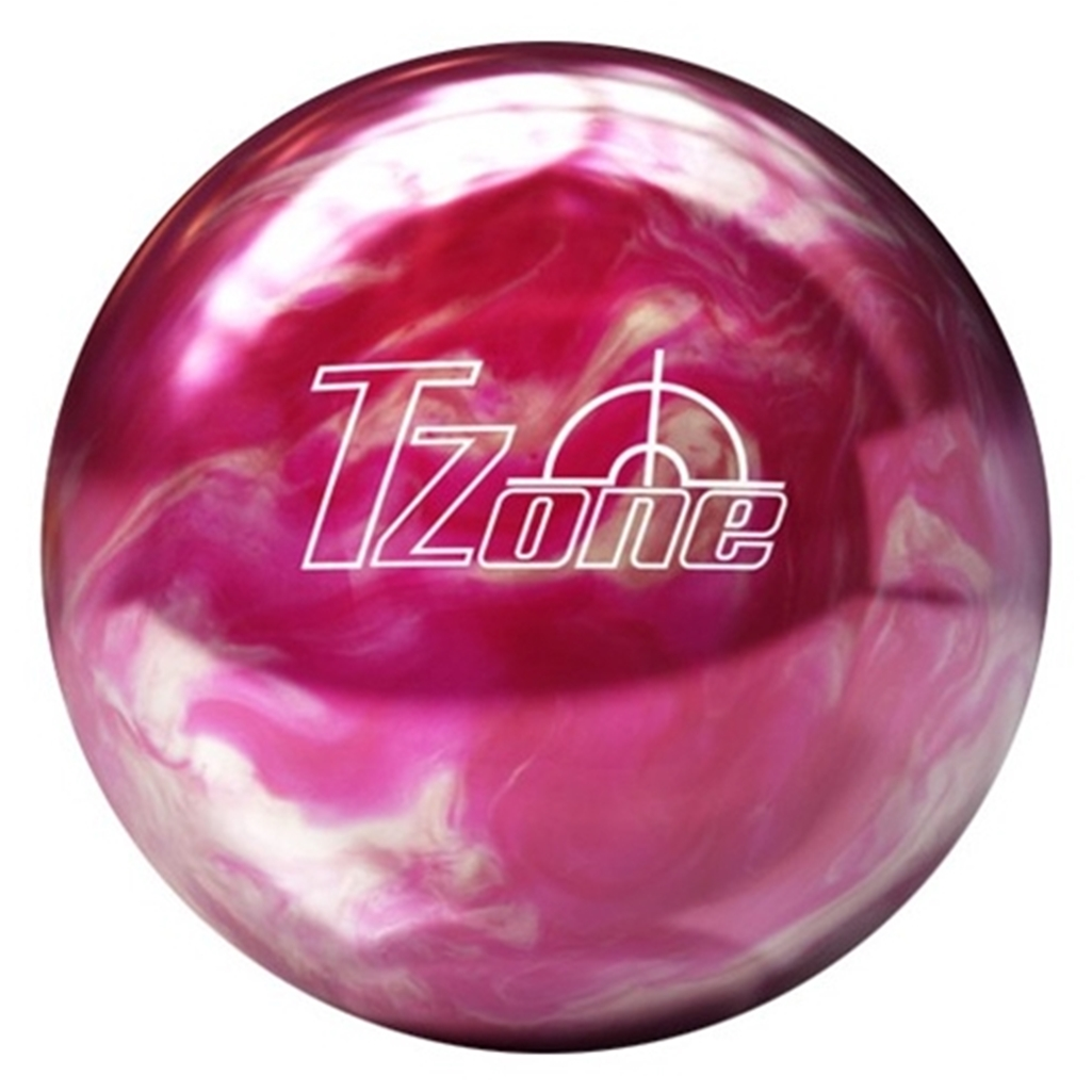 Pink//Black Bowlerstore Products White Dot PRE-DRILLED Bowling Ball