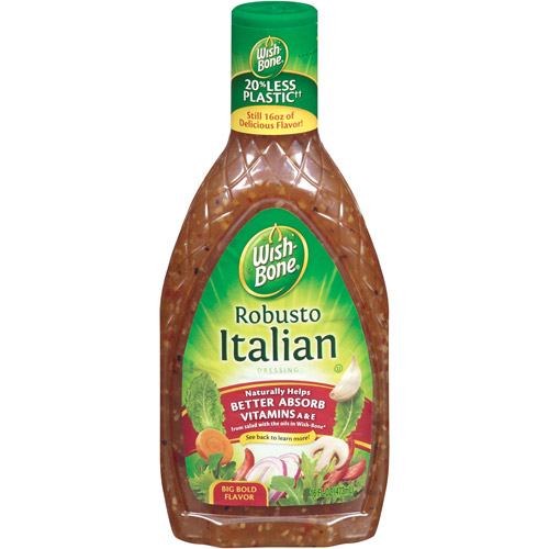 Wishbone: Italian Robusto Salad Dressing, 16 Fl oz