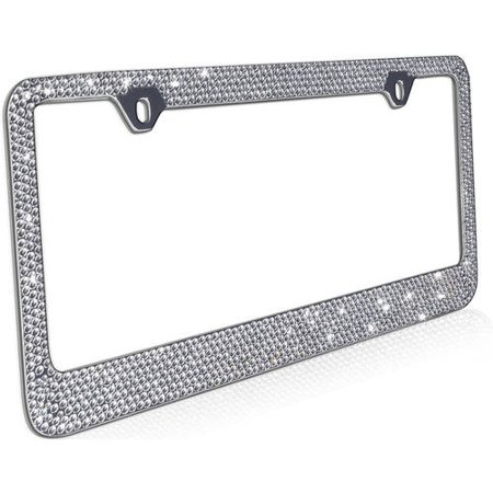 OxGord Heavy Duty Metal License Plate Frame, 1