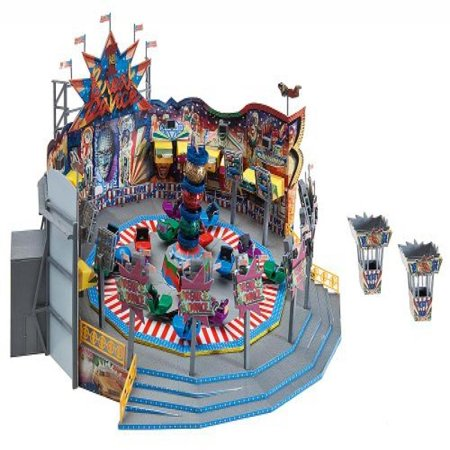 Train Roundabout - BREAK DANCE ROUNDABOUT RIDE - FALLER HO SCALE MODEL TRAIN ACCESSORIES CARNIVAL RIDES 140461