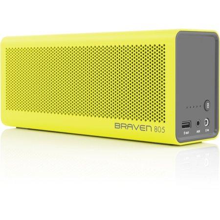 Braven 805 Portable Wireless Speaker - Yellow/Gray Braven 805 Portable Wireless Speaker - Yellow/Gray