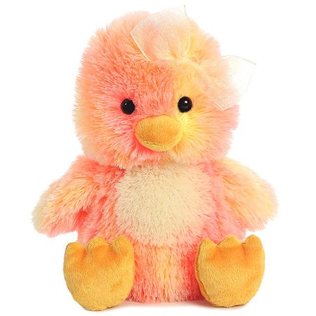 Sprinkles Chick 10 inch - Stuffed Animal by Aurora Plush (08781)