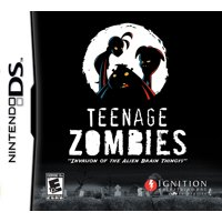 Teenage Zombies Invasion of the Alien Brain Thingys (DS)