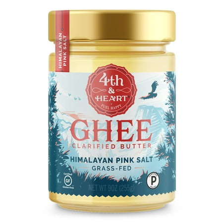 4th & Heart Himalyan Pink Salt Ghee, 9 Oz