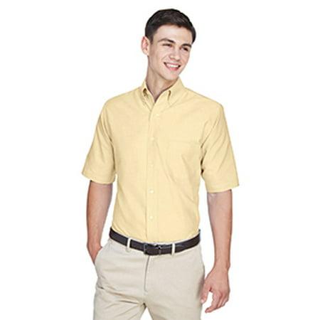 8972 Uc Mens Ss Oxford Dress Shirt Butter 6Xl - image 1 de 1