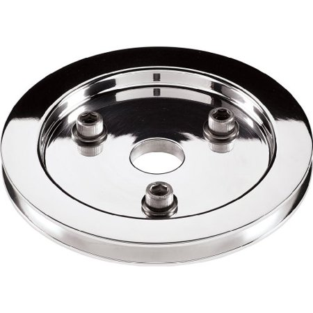 - Billet Specialties 81120 Polished Sbc 1 Groove Lower Pulley
