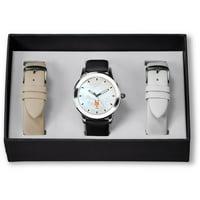 New York Mets Sparo Women's Three Strap Watch Gift Set